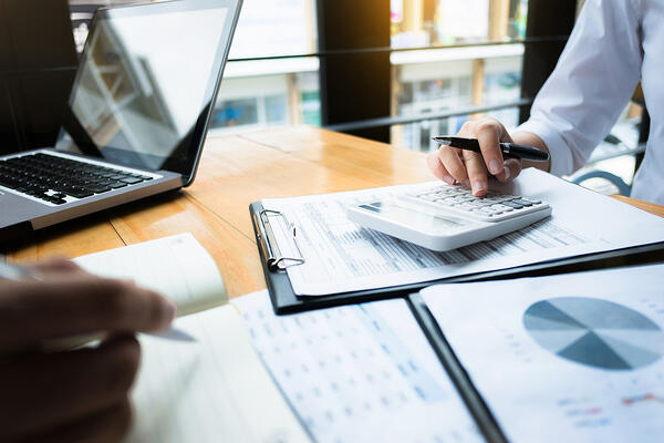 Business cost calculation planning