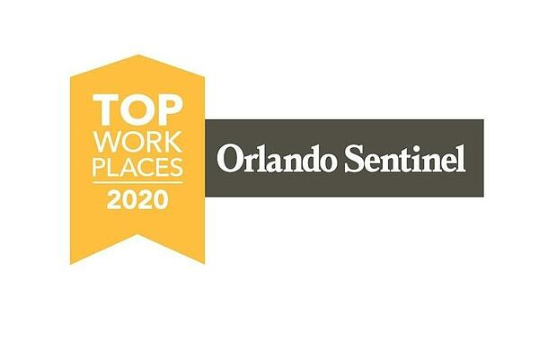 Orlando Sentinel Top Work Places 2020